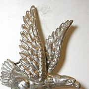 Vintage Bald Eagle Sterling Silver Pin Brooch – c. 1960
