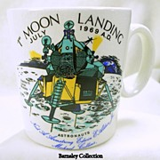 Vintage Commemorative Mug July 1969 First Moon Landing Mug