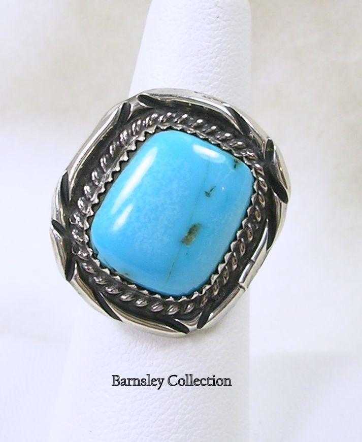 Artisan Crafted Silver Turquoise Ring