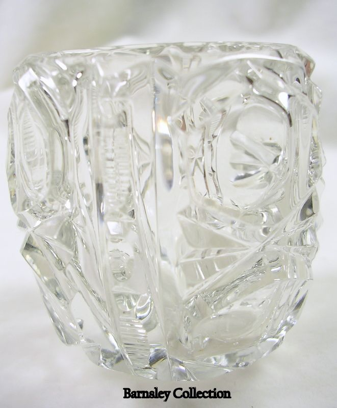 Cut Glass Tooth Pick Holder