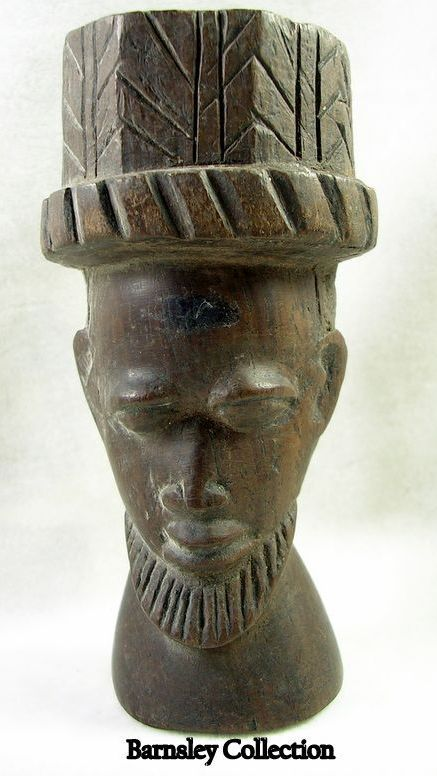 Collectible African Tribunal Aristocrat Statue