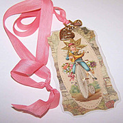Upcycled VICTORIAN INSPIRED Necklace, Gift Tag or Decorative Ornament - OOAK!