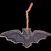 Vintage HALLOWEEN Pressed Paper Black Bat!