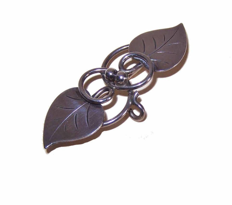Alphonse LaPaglia for INTERNATIONAL Sterling Silver Watch Pin/Brooch - Design 113!