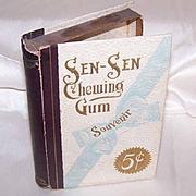 C.1900 EDWARDIAN Sen Sen Chewing Gum Box - Empty but Great Graphics!