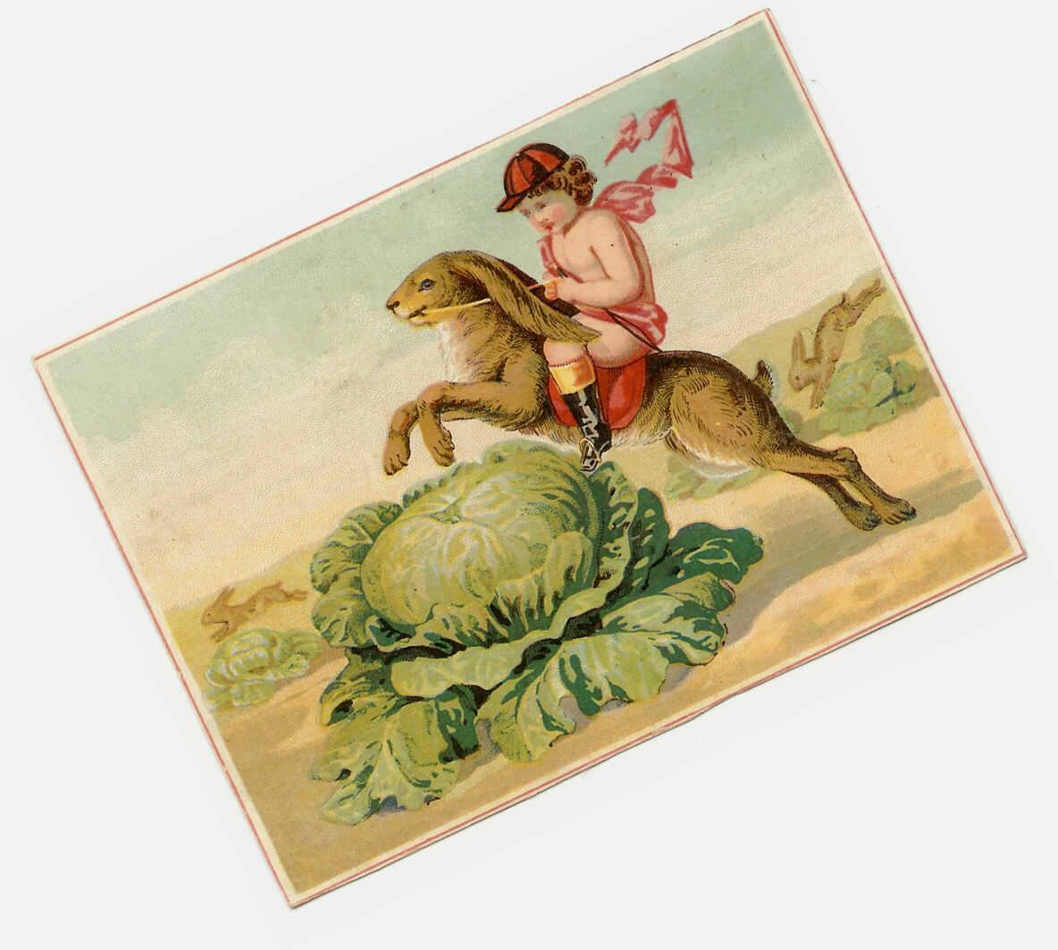 VICTORIAN Trade Card for the Great London Tea Company, Boston, Mass.!