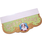 Vintage QUEEN MARY Cigar Label!