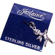 Vintage STERLING SILVER Charm - Angel/Cupid/Putti by Jezlaine!