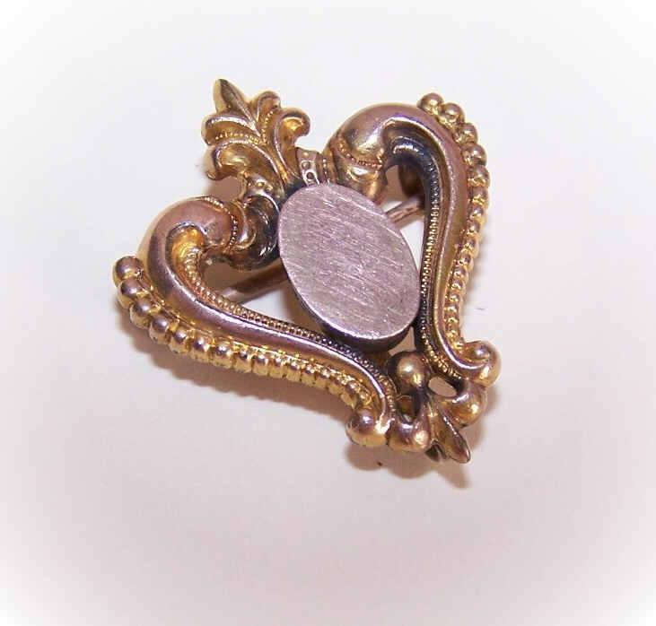 Lovely ANTIQUE VICTORIAN Gold Filled Watch Pin/Brooch!