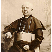 Fabulous C.1900 Religious Photo of a Bishop!