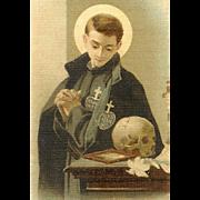 C.1920 RELIGIOUS Card - Saint Gabriel of the Sorrowful Virgin!