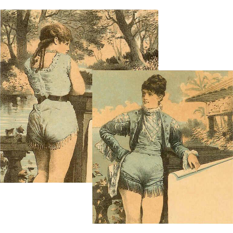 "2 VICTORIAN ""Famous Actress"" Trade Cards - Arline Stanley & Carrie Perkins!"
