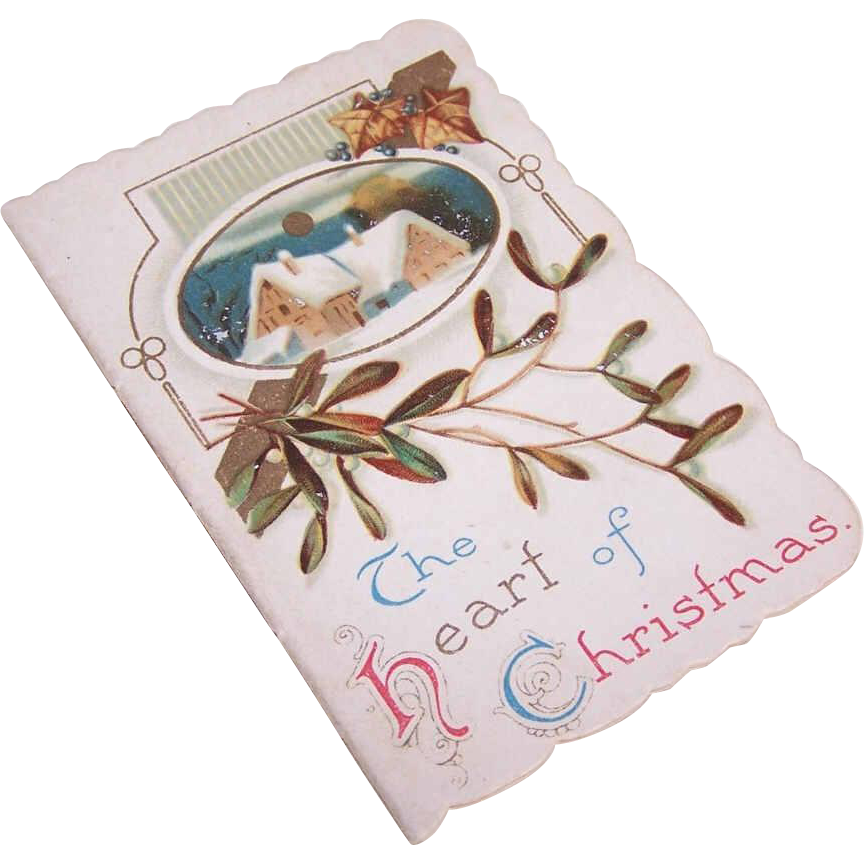 C.1900 Christmas Booklet - The Heart of Christmas!