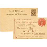 Unused C.1890 NATAL Half Penny Postcard - Long Happy New Year Greeting!