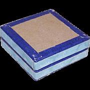 C.1900 FRENCH Flat Pharmacy Box/Lens Box/Trinket Box for Repurposing!