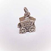Vintage STERLING SILVER Charm - Royal Coach!