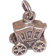 Vintage STERLING SILVER Charm - Royal Coach!