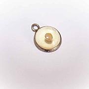 Vintage STERLING SILVER Charm - Mustard Seed!