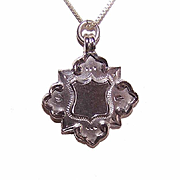 C.1902 English STERLING SILVER Watch Fob Charm or Pendant!