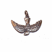STERLING SILVER Dove of Peace/Holy Spirit Religious Charm by Antaya!