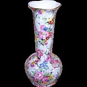 C.1939 LORD NELSON Chintz Bud Vase - Marina Pattern!