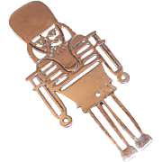 Vintage STERLING SILVER Pin/Brooch - The Nutcracker From The Nutcracker Suite!