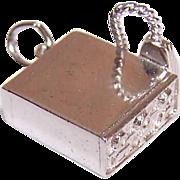 Vintage Sterling Silver Charm - CB Radio!