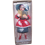 Dated 1969 MADE IN JAPAN Christmas Caroler in Original Box from Woolworths!
