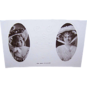 ART NOUVEAU Unused English Post Card - Actress Marie Studholme