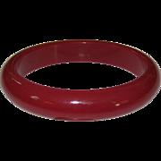 Plummy Red-Purple Bangle Bangle Bracelet
