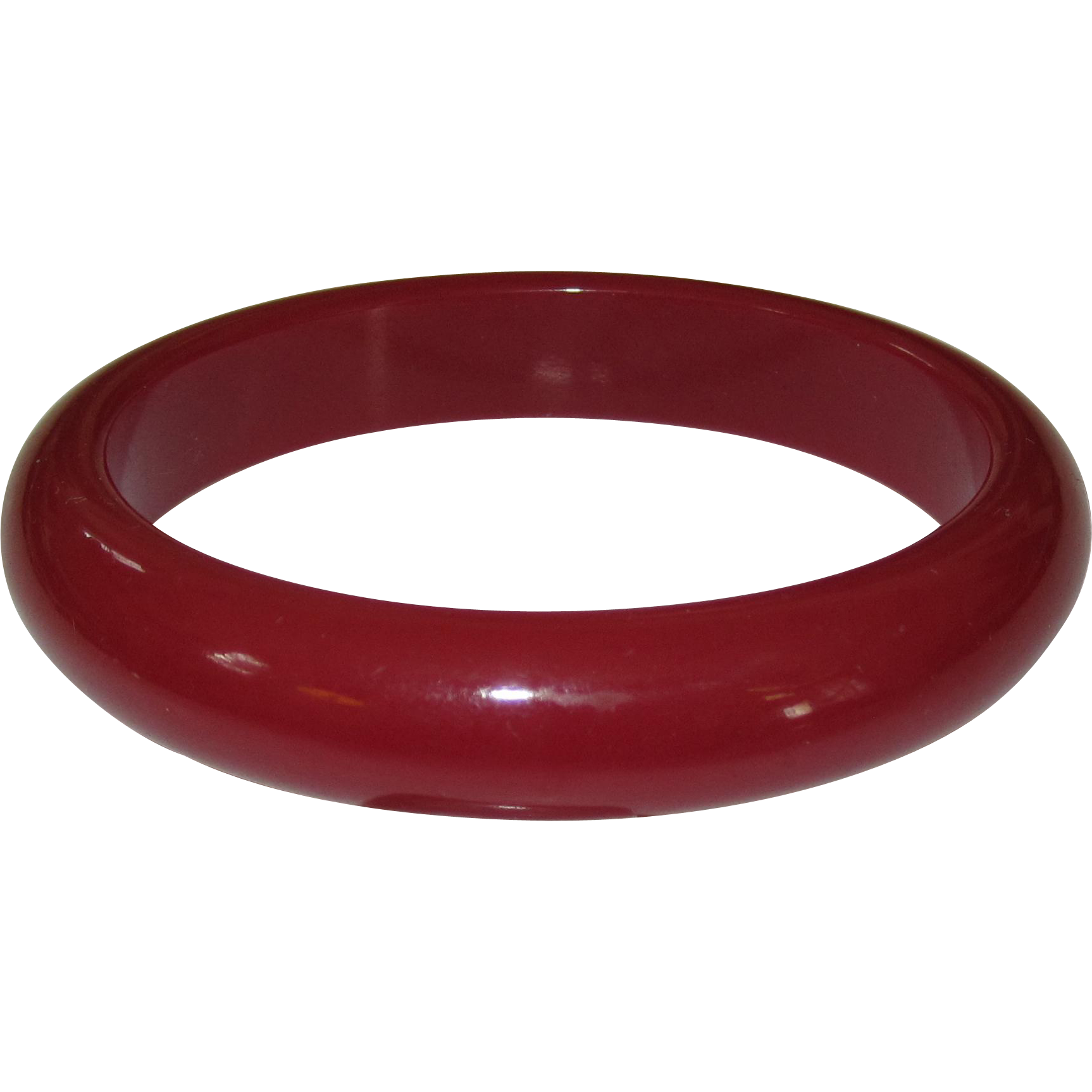 Plummy Red-Purple Bangle Bangle Bracelet