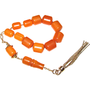 Vintage Lucite Komboloi Worry or Prayer Beads