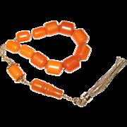Vintage Lucite Komboloi Worry or Prayer Beads