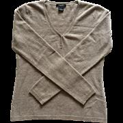 Vintage cashmere boyfriend sweater