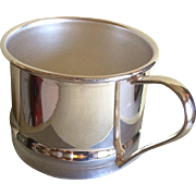 Vintage Silverplate Baby Cup Made in England
