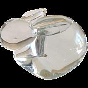 Vintage SilvestriI handblown glass bunny