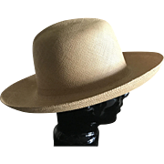 Vintage authentic Panama Hat