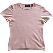 Vintage T shirt style cashmere sweater