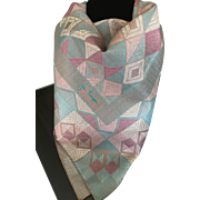 Luxurious Asian Jim Thompson Thai Silk Scarf