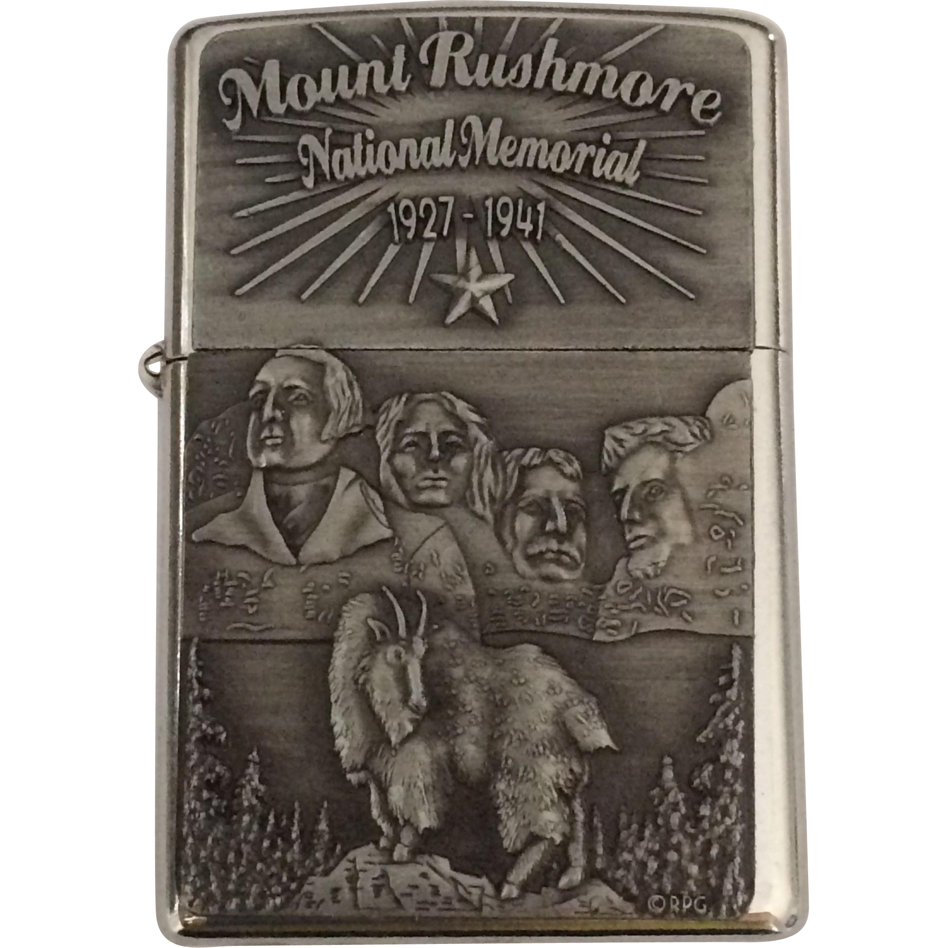 Vintage Mount Rushmore Souvenir Lighter