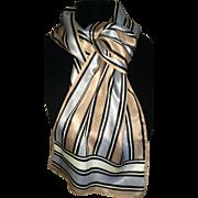 Classic Halston III Silk Scarf