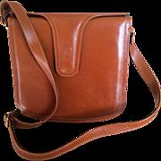Vintage Leather Pierre Cardin Handbag