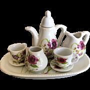 Vintage Miniature Royal Norfolk Tea Set