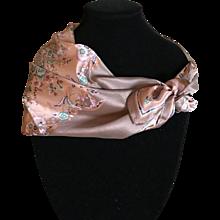 Vintage Oscar de La Renta silk scarf - Red Tag Sale Item