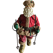 Vintage composite and fabric wilderness Santa