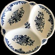 Vintage Royal Worcester Hanbury pattern serving dish
