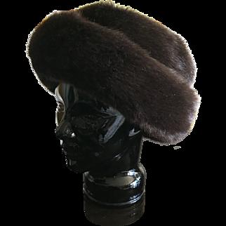 Vintage Betmar faux fur hat