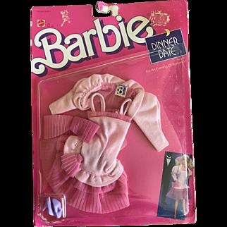 Vintage 1988 Barbie Date Night outfit original packaging