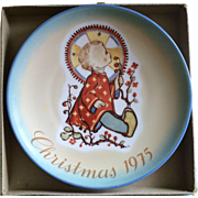 1975 Sister Bertha Hummel Christmas plate in original box
