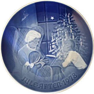 1978 Bing and Grondahl Christmas Plate